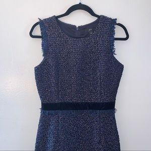 J. Crew Dresses - J. Crew Sparkle Tweed Dress Size 2